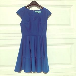 Karlie Small Formal Blue Dress With Zipper